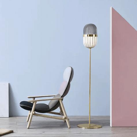 Pill Floor Lamp