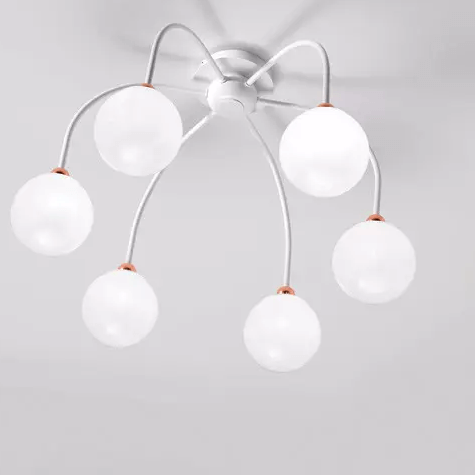 Dots 6 Ceiling Light
