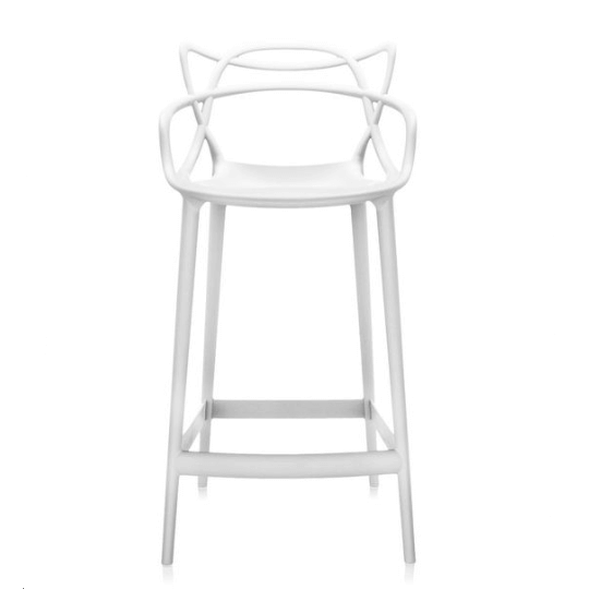 Masters Stool White Chair