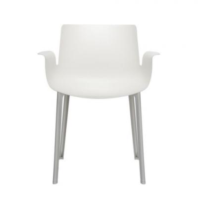 Piuma White Chair