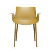 Piuma Mustard Chair