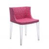 Mademoiselle Memphis Fuchsia/transparent Chair