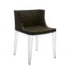 Mademoiselle Memphis Black/transparent Chair