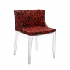 Mademoiselle Memphis Red/transparent Chair