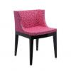 Mademoiselle Memphis Fuchsia/black Chair