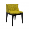 Mademoiselle Memphis Yellow/black Chair
