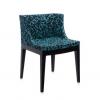 Mademoiselle Memphis Blue/black Chair