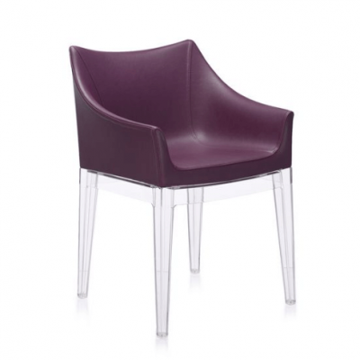 Madame Plum/transparent Chair