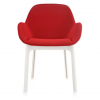 Clap White/red Chair