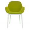 Clap White/green Chair