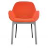 Clap Grey/orange Chair