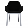 Clap White/black Chair
