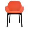 Clap Black/orange Chair