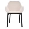 Clap Black/beige Chair