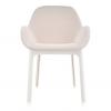 Clap White/beige Chair