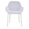 Clap White/grey Chair