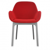 Clap Grey/red Chair