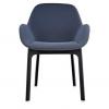 Clap Black/dark Grey Chair