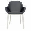 Clap Pvc White/dark Grey Chair
