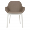 Clap Pvc White/dove Gray Chair