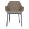 Clap Pvc Grey/dove Grey Chair
