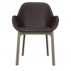 Clap Pvc Black/dark Grey Chair