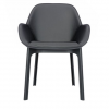 Clap Pvc Grey/dark Grey Chair