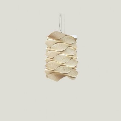 Link Chain Pendant Small / Ivory White