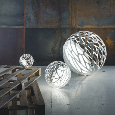 Kelly Sphere Floor Lamp