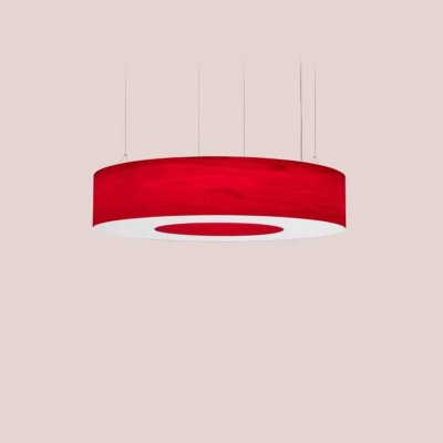 Saturnia L Pendant Led Dimmable / Red