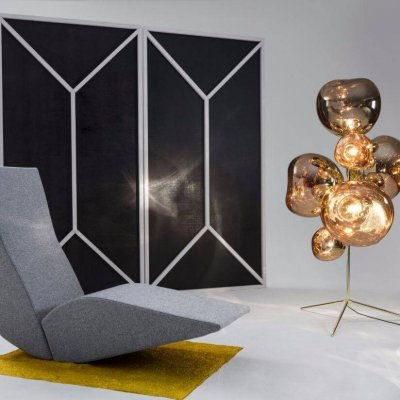 Melt Stand Chandelier Floor Lamp