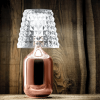 Valentina Table Lamp (W/plug) / Rose Gold