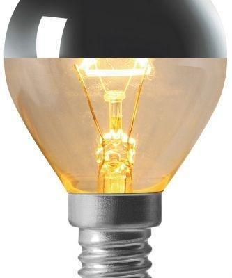 Golfball Silver Cap Lamp