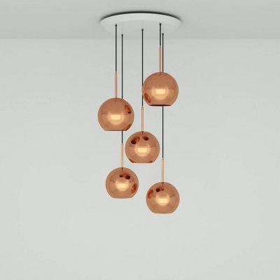 Copper 25Cm Round Pendant System Pendant