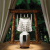 Valentina Table Lamp (W/plug) / Chrome