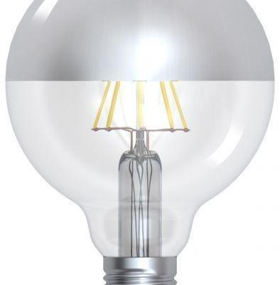 Globe Silver Cap Lamp