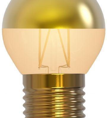 Golfball Golden Cap Lamp